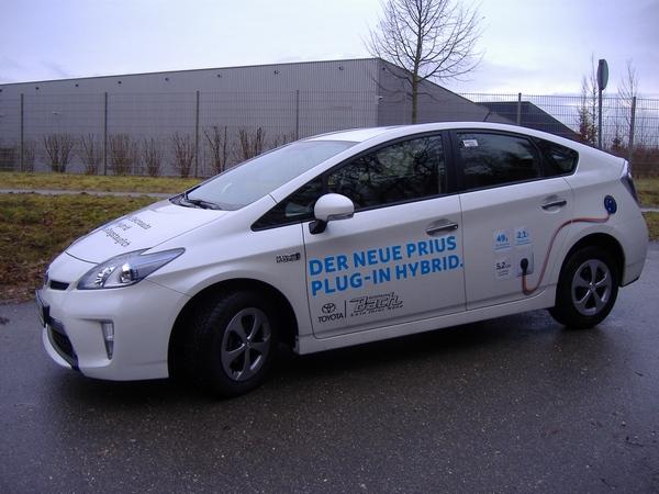 Toyota Prius Plug-In Header