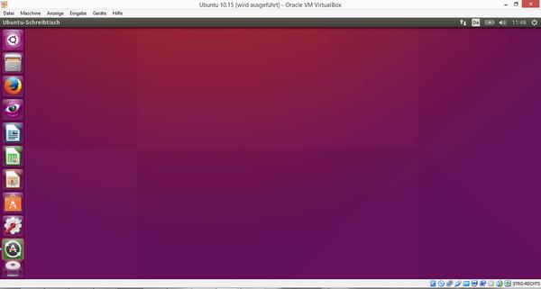Ubuntu in einer virtuellen Box