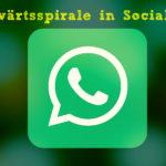 Die Abwärtsspirale in Social Media – warum es ok ist auch mittelmäßigen Content zu posten