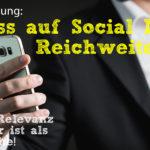Linksammlung: Scheiß auf Social-Media-Reichweite