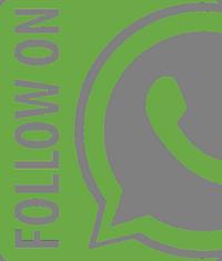 WhatsApp Newsletter - Follow Logo