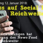 Linksammlung: Social Media Reichweite – Januar 2018