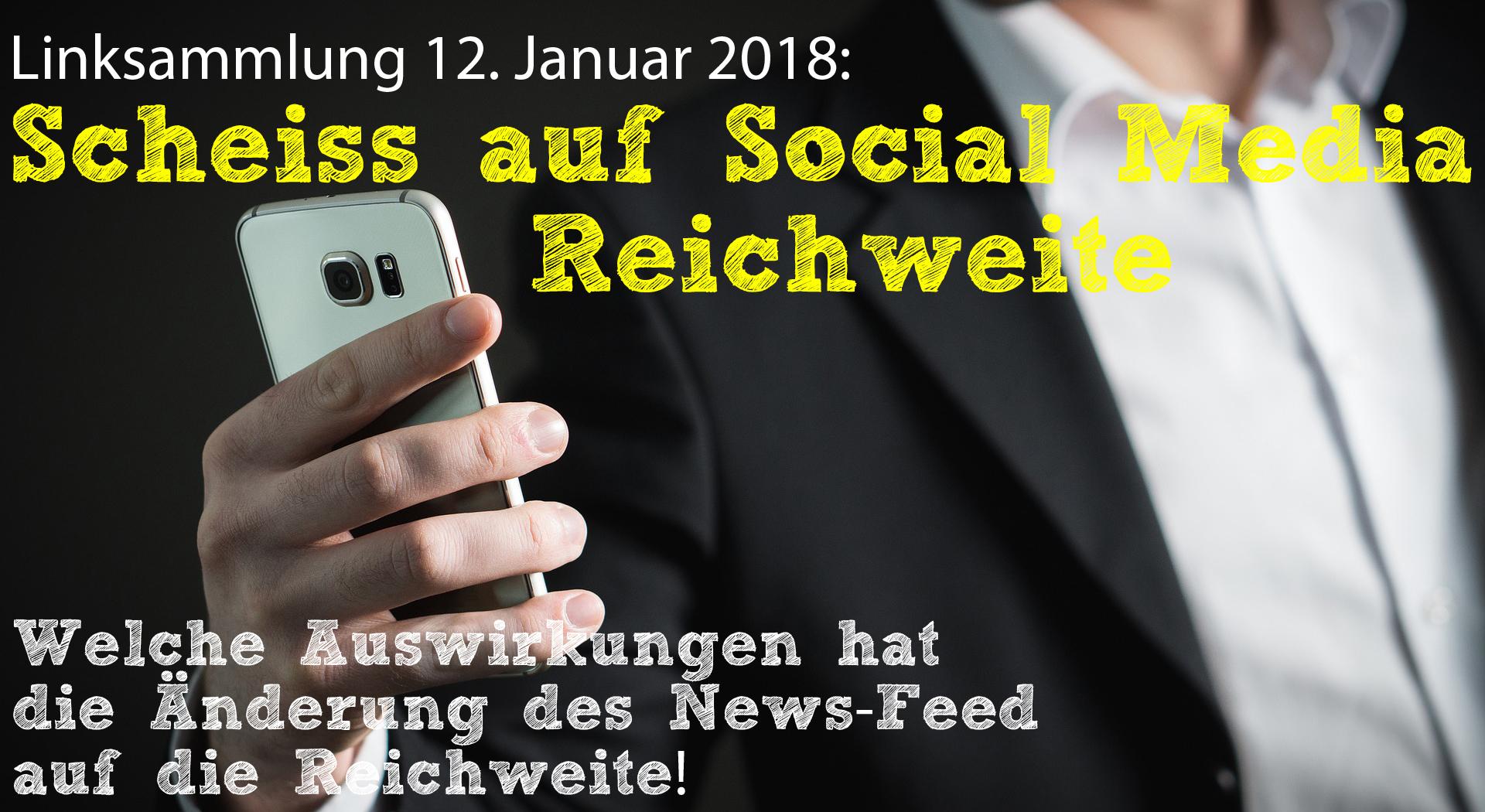 Scheiss auf Social-Media-Reichweite - News-Feed