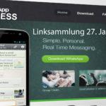 Linksammlung: WhatsApp Business - Januar 2018