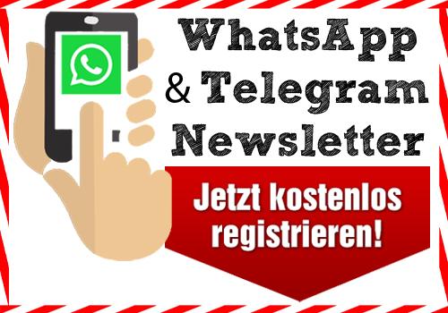whatsapp - telegram newsletter