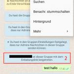 WhatsApp Gruppe - Link erstellen 1