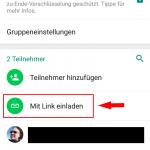 WhatsApp Gruppe - Link erstellen 2