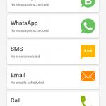 WhatsApp-Newsletter zeitversetzt senden (ohne ROOT) - SKEDit - 3