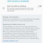 WhatsApp-Newsletter zeitversetzt senden (ohne ROOT) - SKEDit - 8
