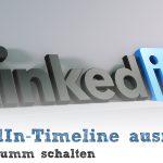 LinkedIn-Timeline ausmisten (Profile stumm schalten)