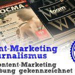 Content-Marketing vs. Journalismus - Teil 3: Muss Content-Marketing als Werbung gekennzeichnet werden?