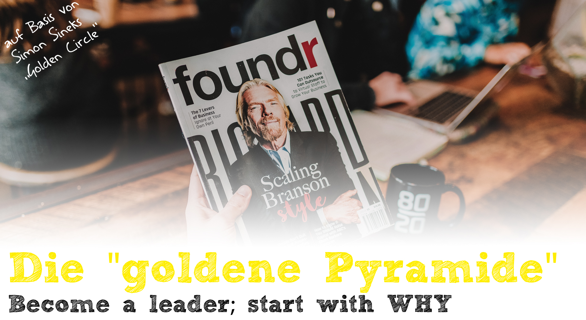 Die goldene Pyramide - Become a leader; start with WHY?