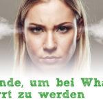 11 Gründe, um bei WhatsApp gesperrt zu werden